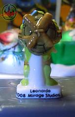 PRIME :: TORTUES NINJA  porcelain miniature prototypes x / LEONARDO - A  (( 2009 ))