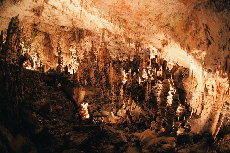 Postojna Cave.