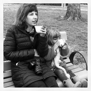 She and I. New Year's Day 2013.