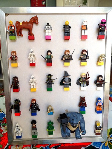 Mini fig display