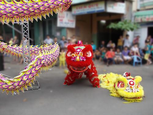 Đoàn Nghệ thuật múa Lân Sư Rồng : Liên Hoa Đường Chuyên Biểu diễn múa Lân Sư R