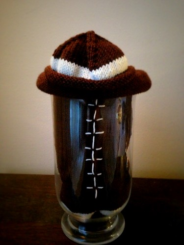 Football Baby sack w hat