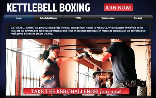 Kettlebell Boxing Venice Beach