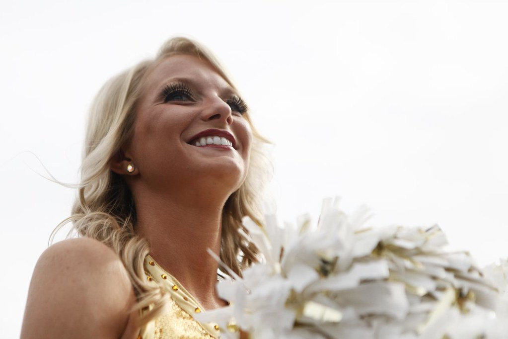 JAIME HENRY-WHITE/Missourian  Golden Girl Sabrina McEvers  pre-game and tailgate  MU Football game vs Arizona State University on Saturday, Sept. 15, 2012 at Faurot Field