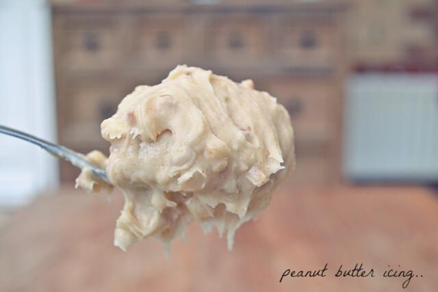 peanut butterfrosting