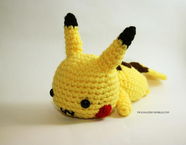 Chibi Pikachu Amigurumi : Pikachu (crochet amigurumi) Flickr - Photo Sharing!