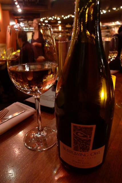 burrowing owl pinot gris