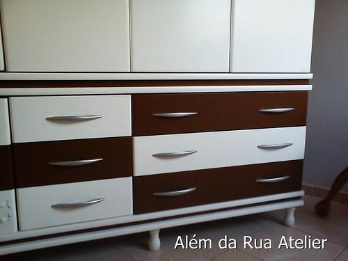 Pintura e restauração de armário