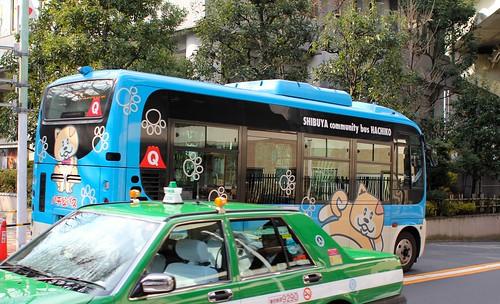Shibuya Minibus
