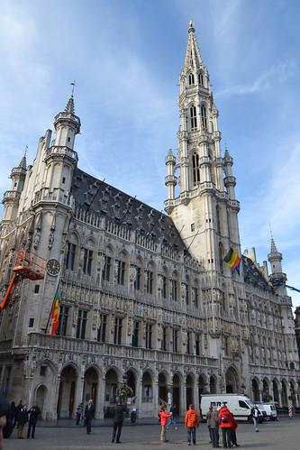 torre del ayuntamiento bruselas