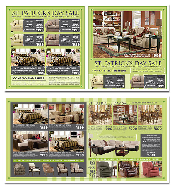 Spec Ad Furniture Spring theme