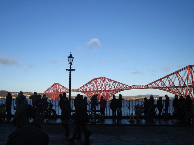Forth Bridge at Loony Dook