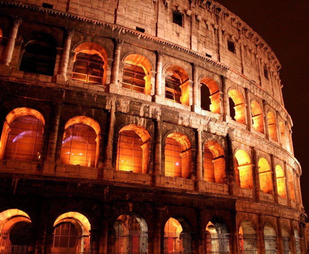 Coliseum Aglow