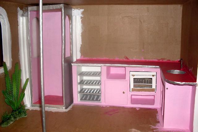 BarbieCardboardDollhouse071
