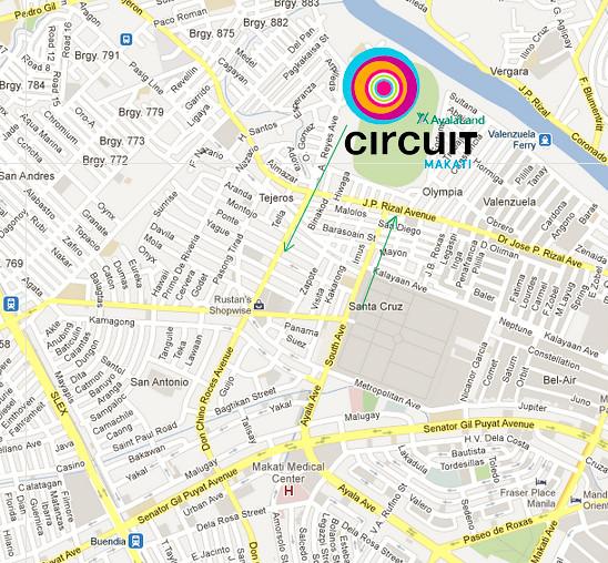 CircuitMakatiMap