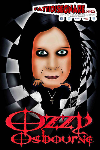 Ozzy Osbourne by Giuseppe Lombardi