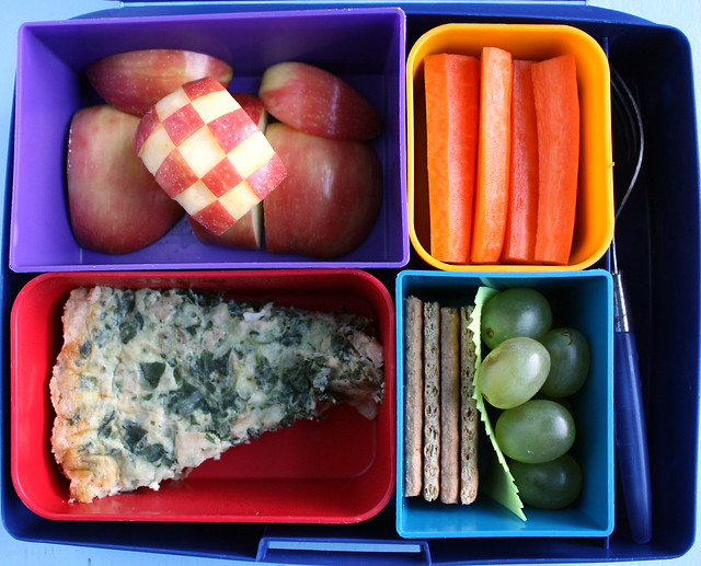 Big Kid Quiche Bento #700