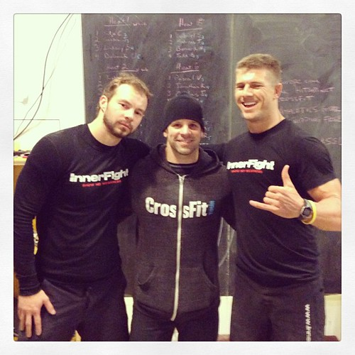 Good to catch up with @crossfitrob @ his #strongman challenge tonight in #basel