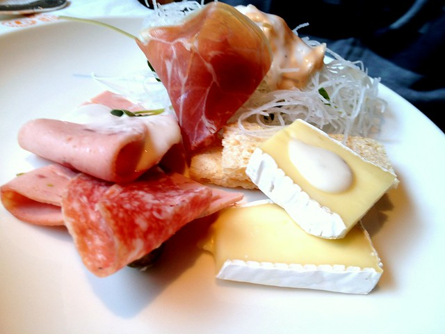 Assorted Cheese and Cold Cuts