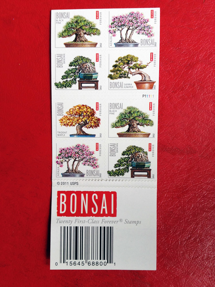 forever stamps - Bonsai