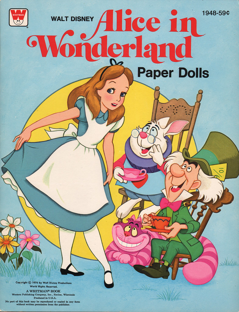 alice in wonderland term papers