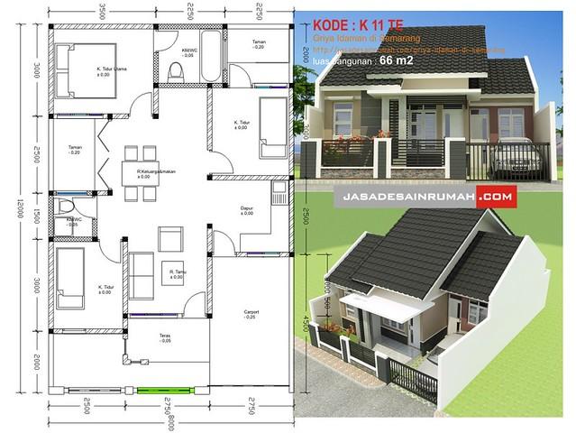 Denah  Rumah  Idaman  Design Rumah  Minimalis