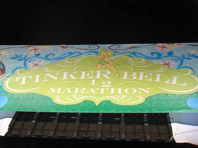 Tinker Bell 1/2 Marathon Starting Line 2013