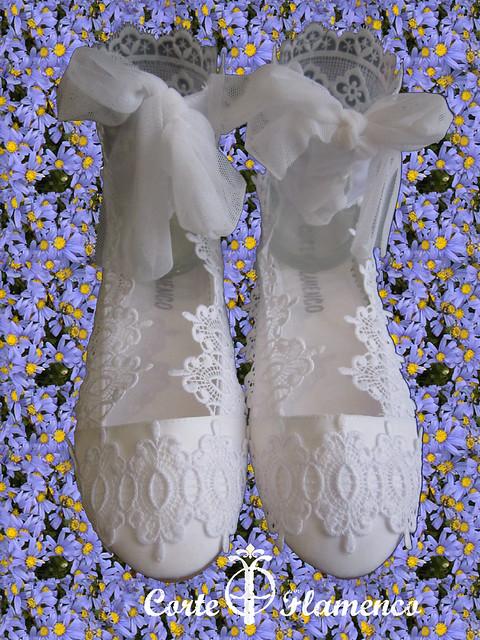 zapatos para comunion, bailarinas de comunion, manoletinas de comunion , corte flamenco, charo ruiz (7)