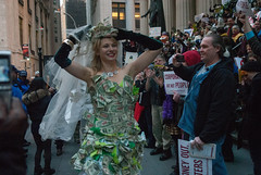 Marrying Corporations to protest Citizens United ruling in NYC