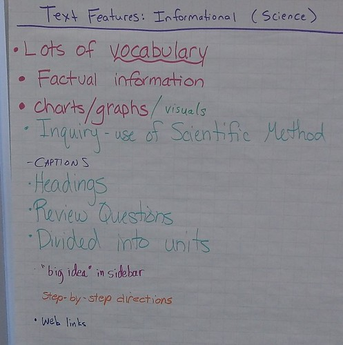 text features info science