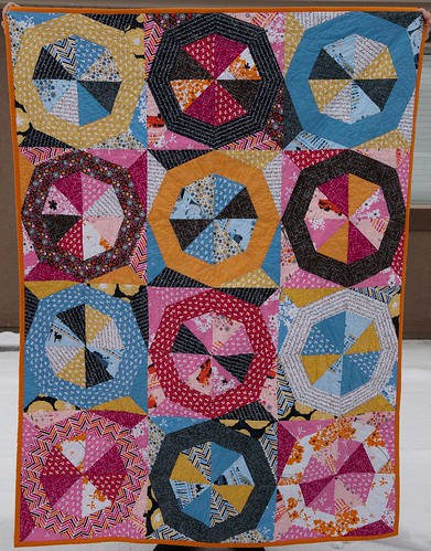 Finished Madrona Road Challenge Quilt
