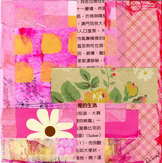 Collage: Pink Thoughts II