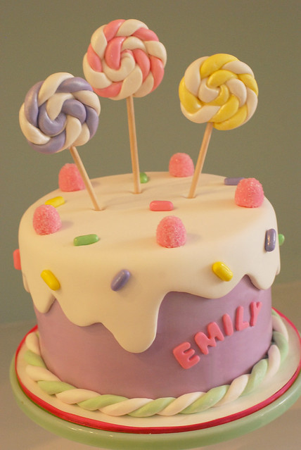 Birthday Cake Designs For Little Girl : Candy Birthday Cake Flickr - Photo Sharing!