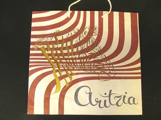 Aritzia bag make over- Zebra