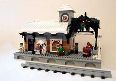 Winter Village Station