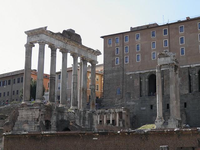 The Rostra (Orator's Platform), Roman Forum, Rome