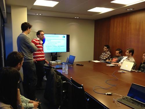 seminario televisión híbrida HbbTV en Paradigma