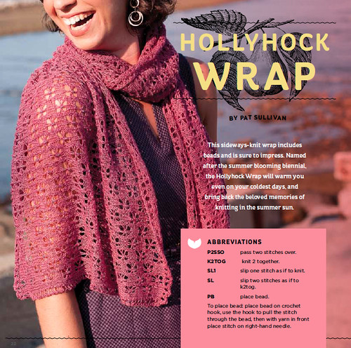 Hollyhock Wrap On Holiday