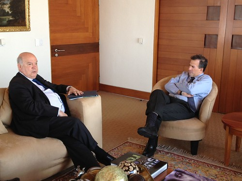 OAS Secretary General Meets with Foreign Minister of Mexico
