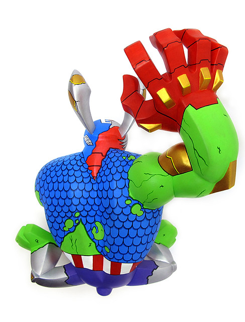 The Ultimate Avenger Paw Raw