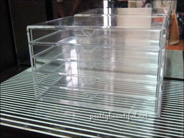 Muji acrylic drawer