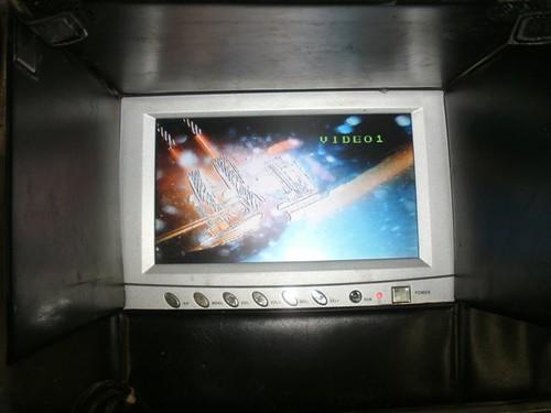 Boven water mee kijken kan via ons video systeem
