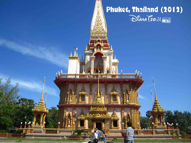 Phuket Day 1 - Wat Chalong 01