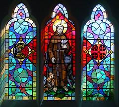 St Francis by John Lawson, 1974