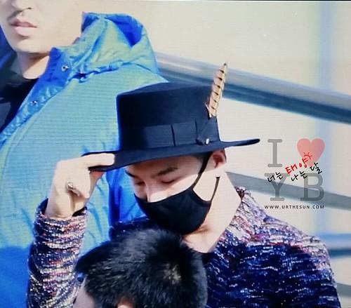 Big Bang - Incheon Airport - 21mar2015 - Tae Yang - Urthesun - 06