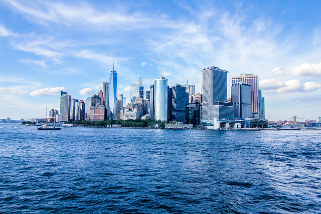 New York City (NYC), Empire State, USA