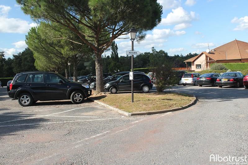 photo du golf Lyon Salvagny Golf Club - Parking
