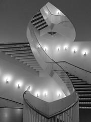 Stairway, Museum of Comtemporary Art, Chicago, Illinois