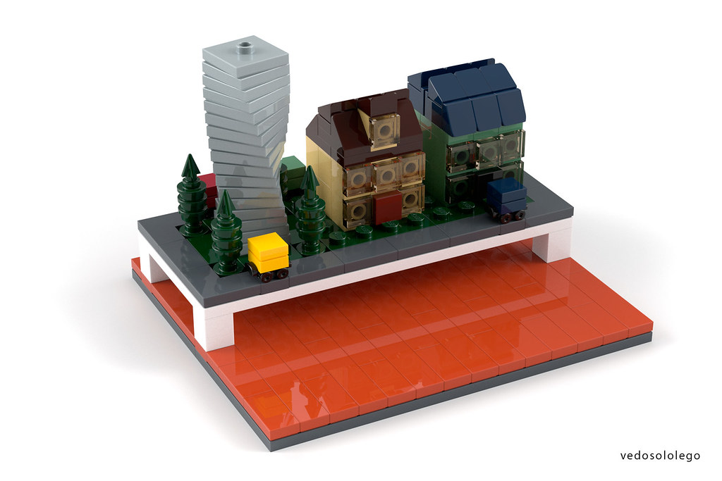The AFOL Brick House - Diorama room | BREAKING NEWS! LEGO TO… | Flickr