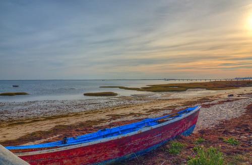 sunset seascape portugal boat algarve riaformosa 256 olhão 498 quintademarim tokina1224dxii nikond5100